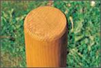 Lärchenholz von unseren Spielplatzgeräten