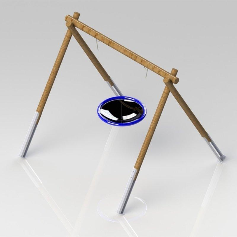 schaukelgestell aus douglasie mawi spiele mawi spiele wertvolle ideen f r kinder. Black Bedroom Furniture Sets. Home Design Ideas