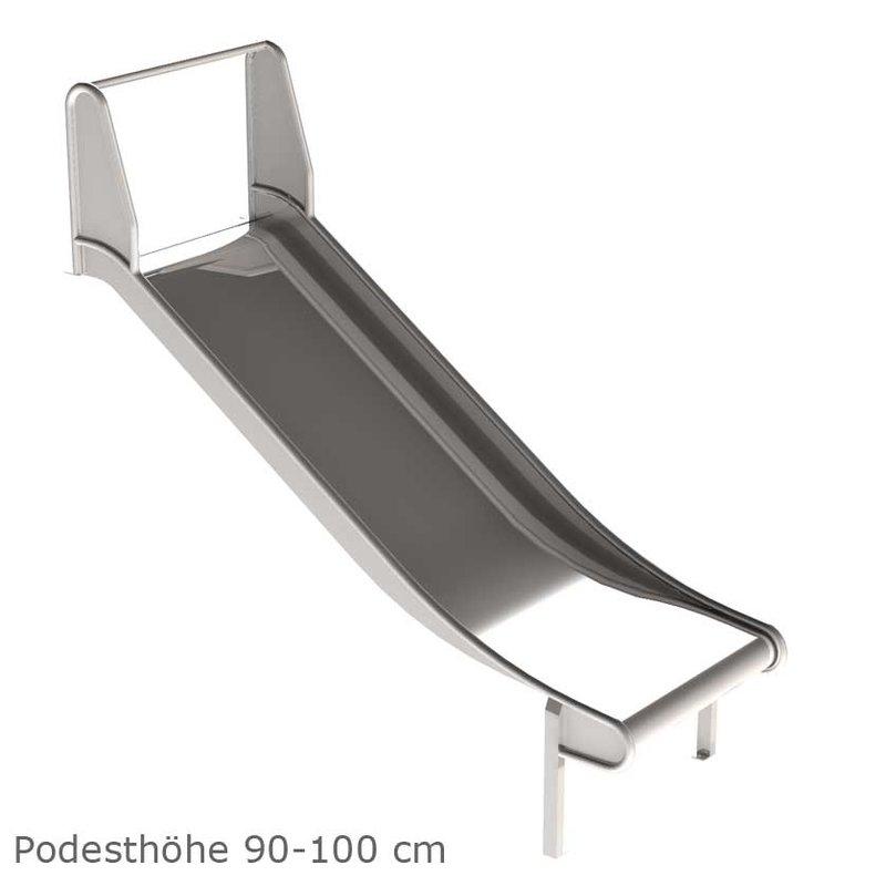 edelstahlrutsche breite 1m mawi spiele mawi spiele wertvolle ideen f r kinder. Black Bedroom Furniture Sets. Home Design Ideas