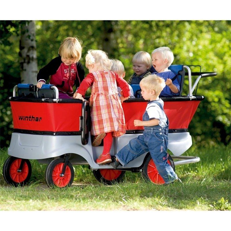 krippenwagen f r 6 kinder mawi spiele sinnvolle geschenke und spielger te f r kindergarten. Black Bedroom Furniture Sets. Home Design Ideas