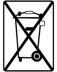Batterieentsorgung Symbol