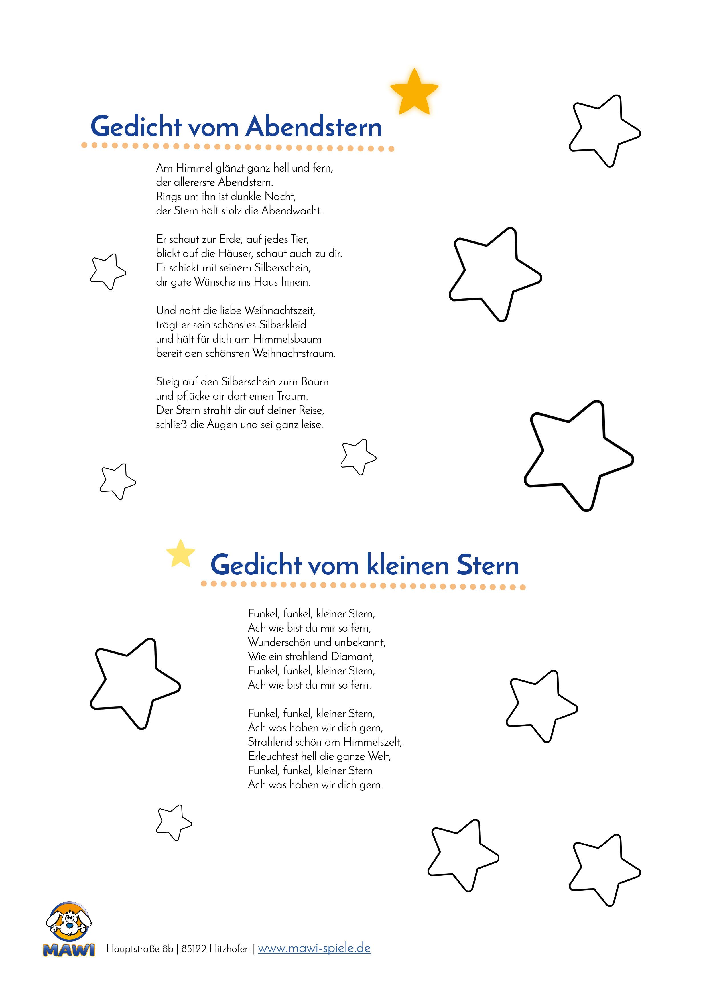 Sternengedichte